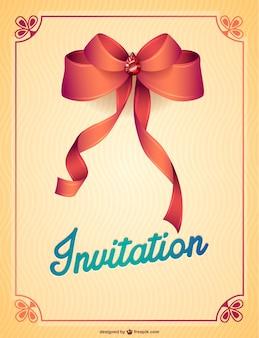Modèles d'invitation de partie libre imprimable