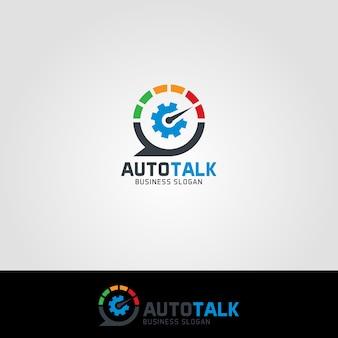 Modèles de logo auto talk