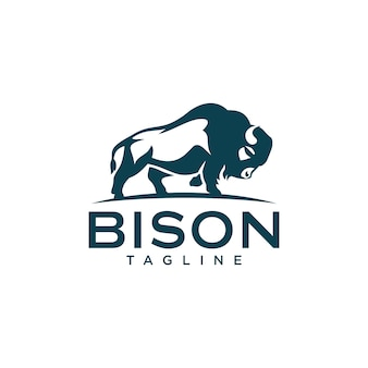 Modèles de logo de bison
