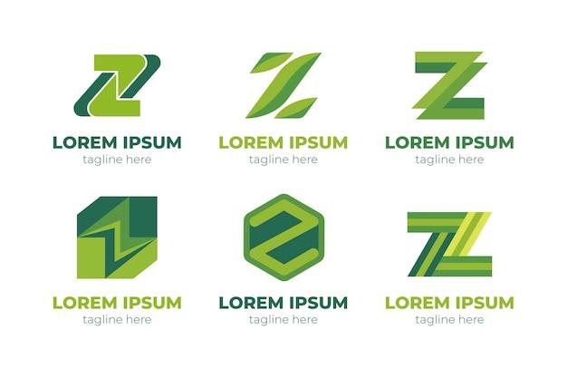 Modèles de logo créatif lettre z