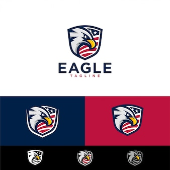 Modèles de logo eagle