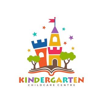 Modèles de logo de jardin d'enfants