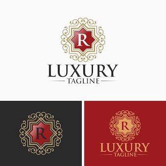 Modèles de logo de luxe