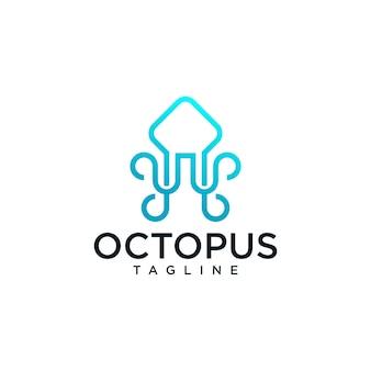 Modèles de logo octopus