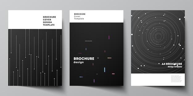 Modèles de mise en page pour dépliant de brochure