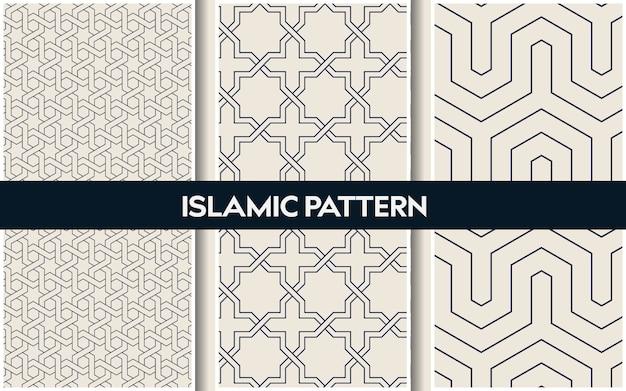 Modèles orientaux islamiques, motif géométrique arabe sans soudure