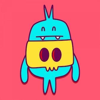 Modèles de personnage monstre mignon