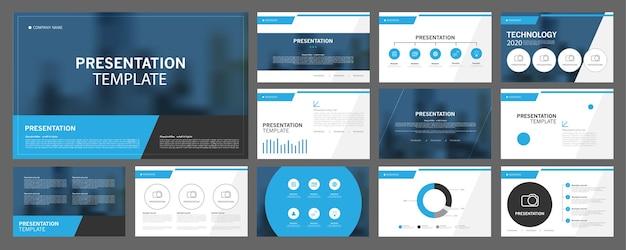 Les modèles de présentation d'entreprise sont utilisés dans le dépliant de présentation et le rapport d'entreprise du dépliant