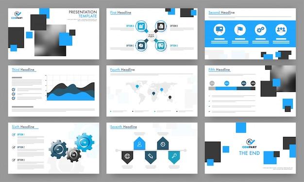 Des modèles de présentation professionnels pour votre entreprise.