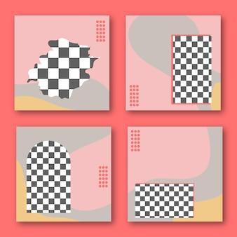 Modèles de publication instagram