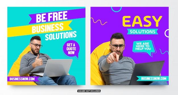 Modèles de publication sur les médias sociaux pour les promotions commerciales modernes