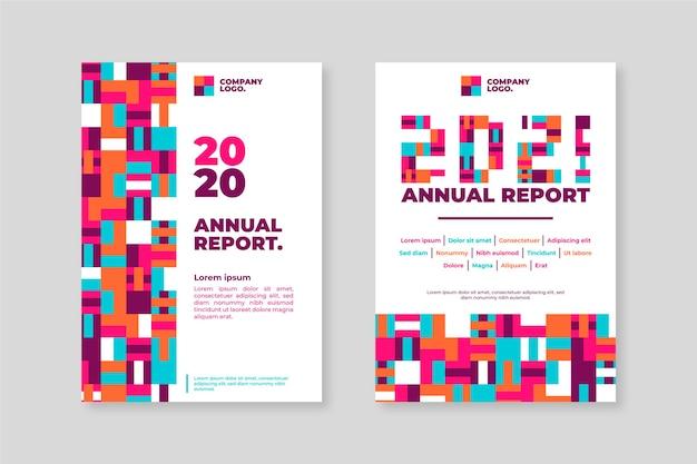 Modèles de rapport annuel géométrique 2020-2021