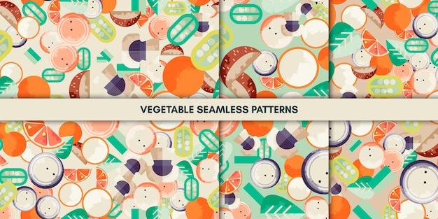 Modèles sans soudure de légumes
