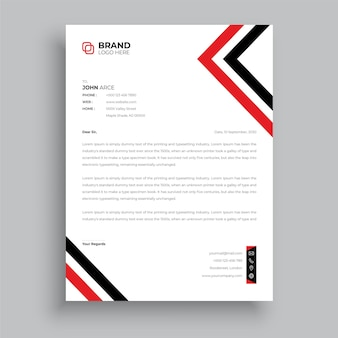 Modèles d'en-tête de style commercial pour la conception de votre projet
