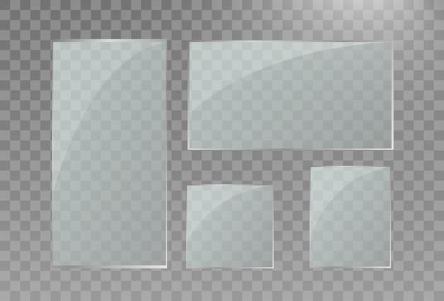 Les modèles transparents en verre définissent un fond transparent en verre