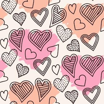 Modélisme coeur sans couture mignon