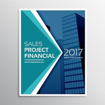 Moden business flyer brochure template design
