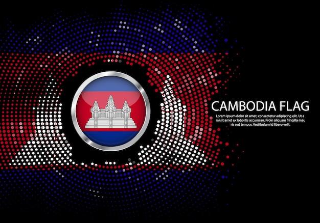 Moderne du cambodge conception du réseau de connexions de carte