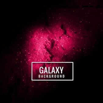 Moderne fond galaxie
