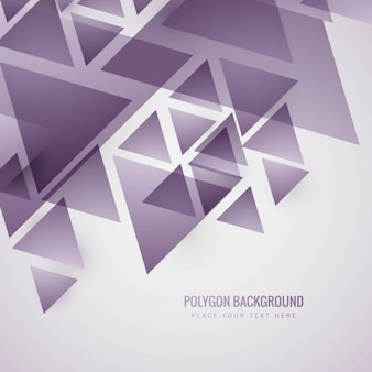 Moderne fond polygonal