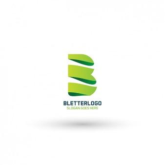Moderne logo b