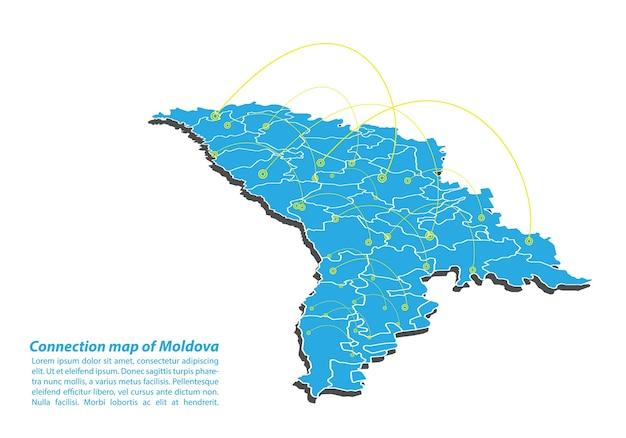 Moderne de moldova planification du réseau de connexions