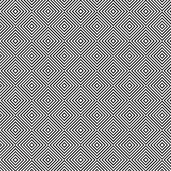 Moderne motif abstrait sans soudure en noir et blanc