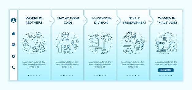 Modification du modèle d'intégration des rôles de genre