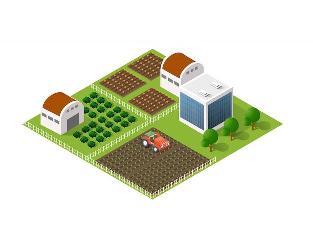 Module bloc ville urbain paysage urbain
