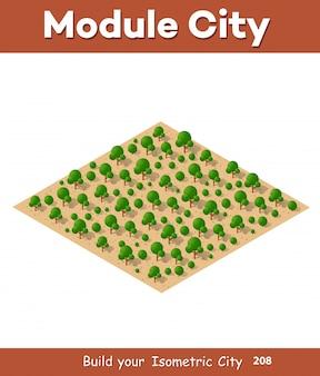 Modules isométriques pour la construction
