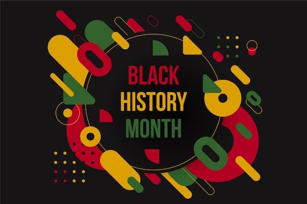 Mois de l'histoire des noirs plats