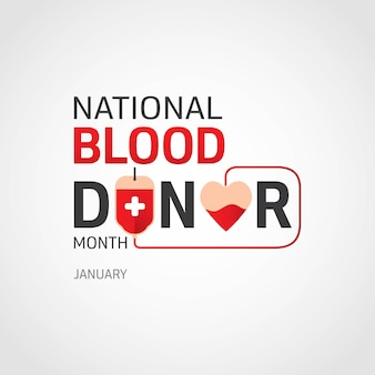 Mois national des donneurs de sang