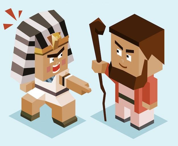 Moïse contre ramsès