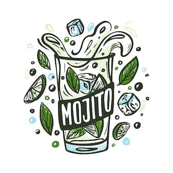 Mojito avec des ingrédients
