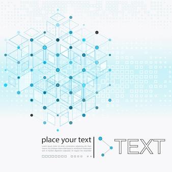 Molécule et fond de communication