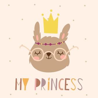 Mon lapin princesse