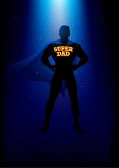 Mon papa, mon super-héros