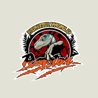 Monde des chasseurs, logo avec un rapace au centre.