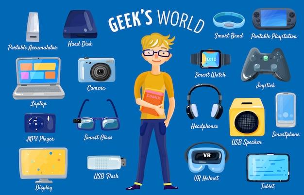 Monde de gadgets set