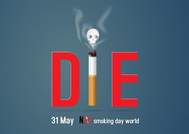 Monde de jour sans tabac