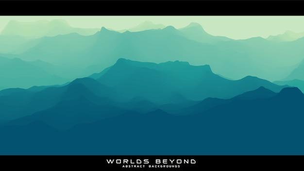 Des mondes au-delà du paysage abstrait