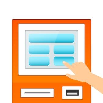 Moniteur terminal informatif