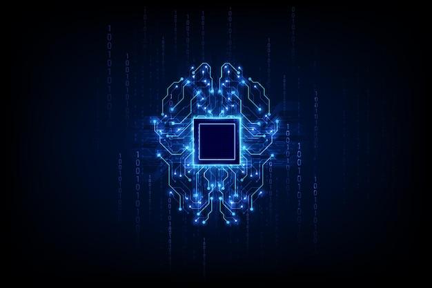 Monnaie numérique bitcoin dorée, argent numérique futuriste, concept de réseau mondial de technologie, illustration vectorielle
