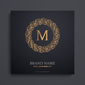 Monogramme d'or