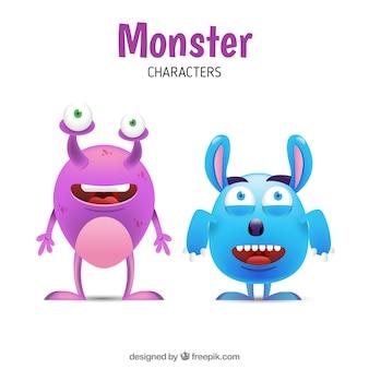 Monster ensemble de deux