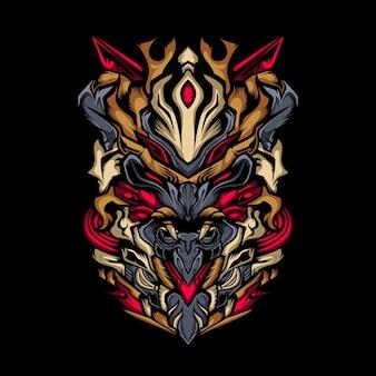 Monster samurai.