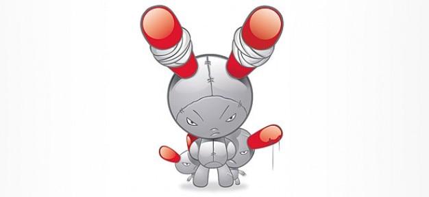 Monstre en colère et, personnage de dessin animé gratuit