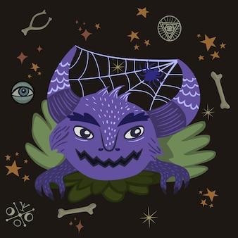 Monstre d'halloween