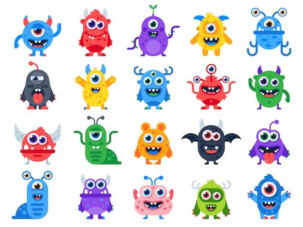 Monstres de dessin animé