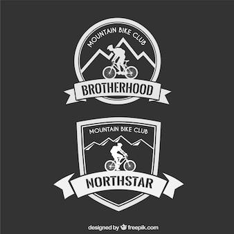 Montagne badge vélo